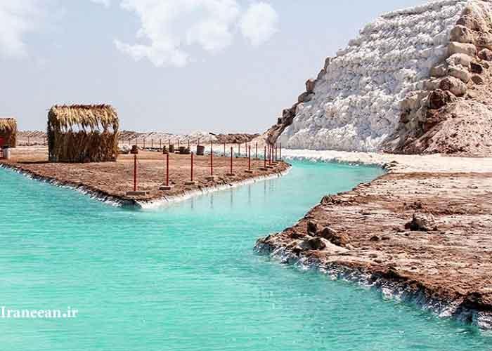 آبشار نمکی گرمسار