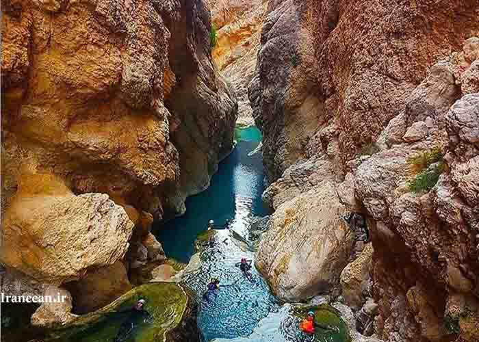 آبشار پلکانی بدو
