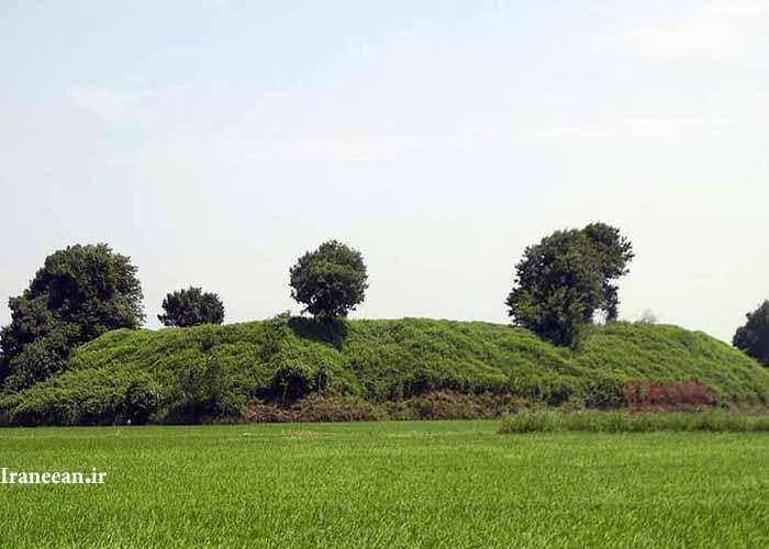 تپه باستانی سرخ رود
