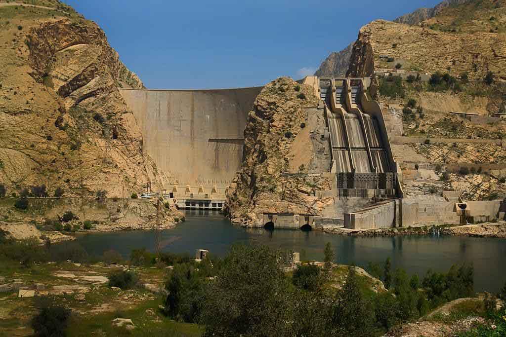 دریاچه سد عباسپور