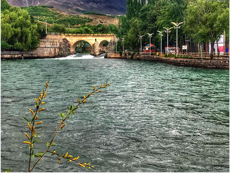 رود کارون در  استان چهرمحال و بختیاری