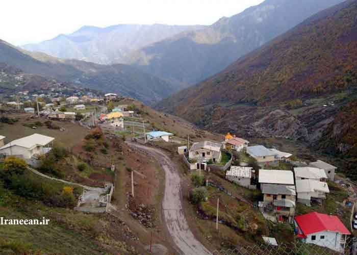 روستای سینوا چالوس