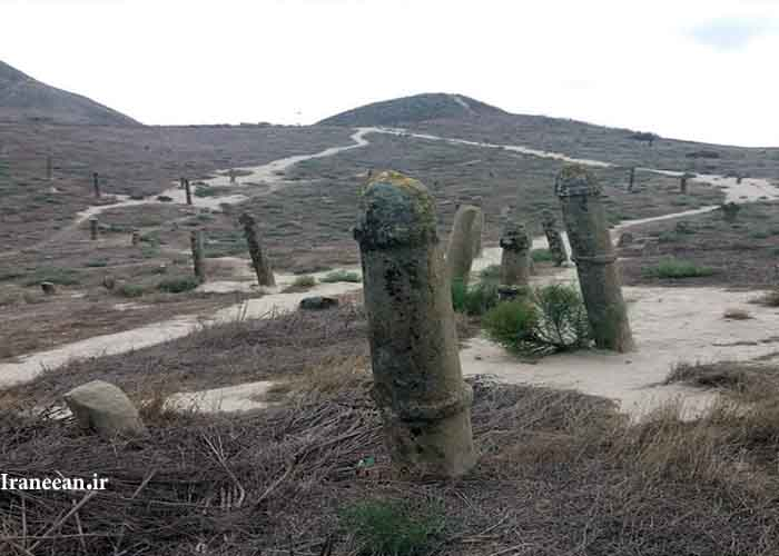 قبرستان ۷۰۰۰ ساله کلاله