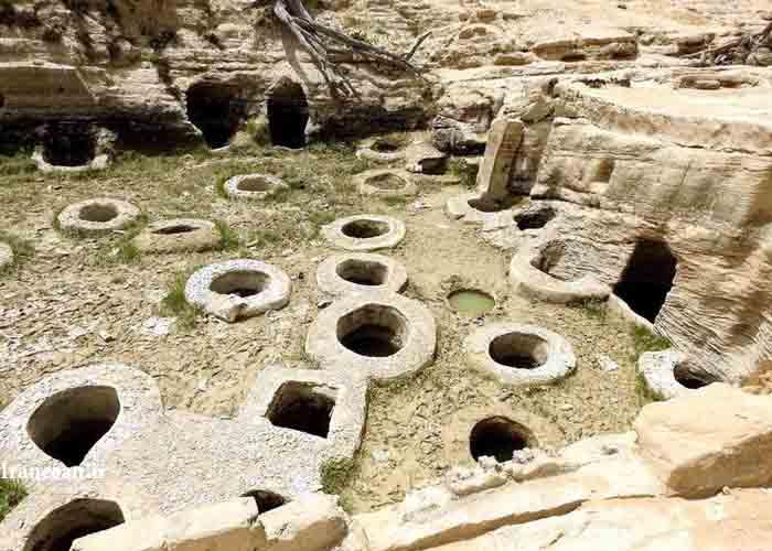 چاه های تل آب یا طلا